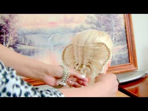 como haser un peinado con alas de mariposa o pajaro
