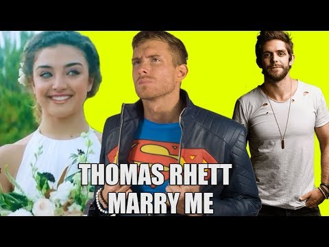 MARRY ME - THOMAS RHETT REACTION | SK REACTS - #DailyTrend