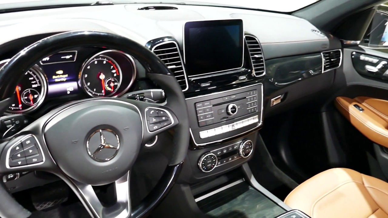New 2018 Mercedes Benz Gle 550e 4matic Plug In Hybrid Suv Interior