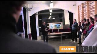 graffiti-fabriek - graffiti workshop bedrijfsuitje Antwerpen