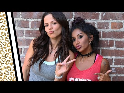 "Nicole ""Snooki"" and Tammin Sursok—I Heart Fall Tag!"