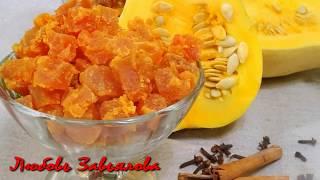 Цукаты из тыквы - волшебный вкус!/Pumpkin candied fruits