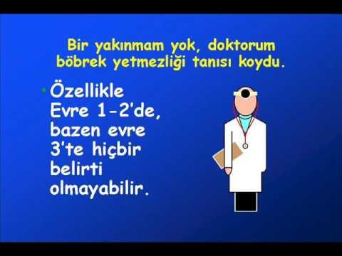 Kronik Böbrek Hastalığı Erken Dönem Evre 1-2 (Prof. Dr. Tekin AKPOLAT)
