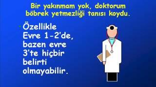 Kronik Böbrek Hastalığı Erken Dönem Evre 1-2  Prof. Dr. Tekin Akpolat