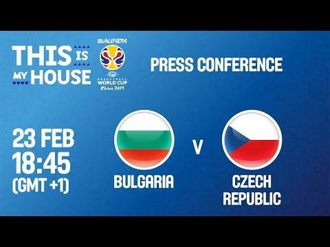 Bulgaria v Czech Republic - Press Conference - FIBA Basketball World Cup 2019 - European Qualifiers