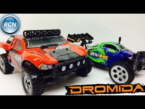 Dromida 1/18th Scale BRUSHLESS Speed Series RTR's Unboxed!
