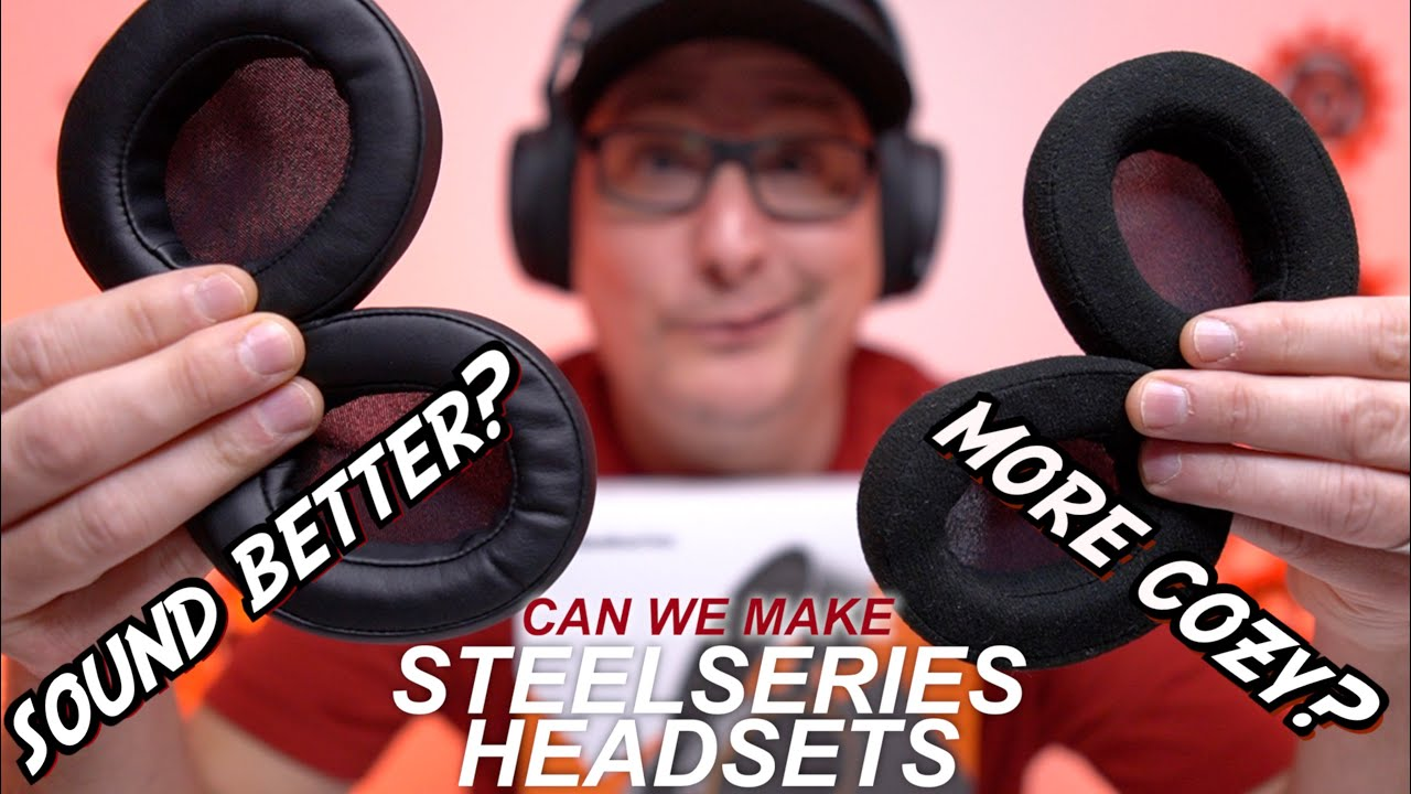 Steelseries Headset Ear Pad Replacement Will They Sound Feel Better Youtube