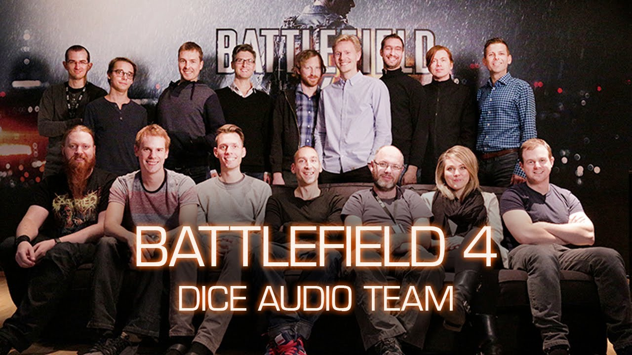battlefield 4 the dice audio team at work youtube. Black Bedroom Furniture Sets. Home Design Ideas