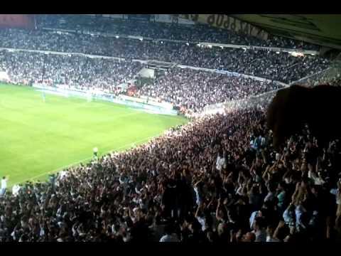 bjk eskişehir spor inönü tribün show   16 11 2011
