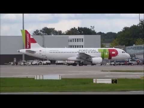 TAP Portugal A320-200 Hannover HAJ - Lisbon LIS *Full flight*