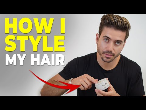 HOW I STYLE MY HAIR *daily routine* Alex Costa Hairstyle thumbnail