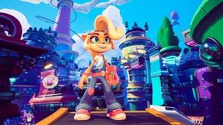 Crash Bandicoot 4 - Parte 15 Ciudad del Futuro