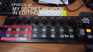 Episode 32: How I Edit my Photos using this Gadget