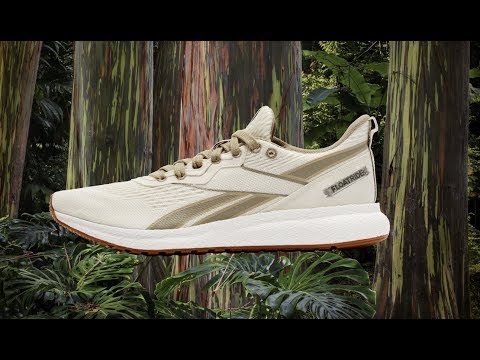 Reebok's First-Ever Plant Based Running Shoe
