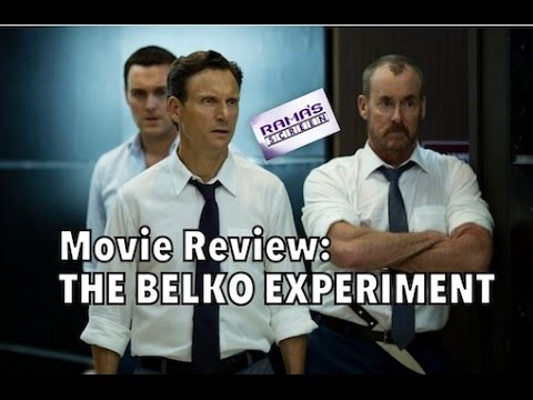 My Review of 'THE BELKO EXPERIMENT' | Welcome to James Gunn's R rated Gore fest!