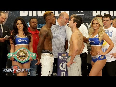 JERMALL CHARLO VS. JORGE SEBASTIAN HEILAND - FULL WEIGH IN & FACE OFF VIDEO
