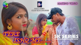 tere ishq me//making new nagpuri romantic video song//with vinod dada & sandhya