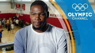 How big of a Foodie is Basketball star Kevin Durant ft Chef Ryan Lopez | Gold Medal Entourage