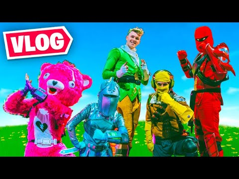Fortnite IRL! (E3 + Pro-Am Vlog)