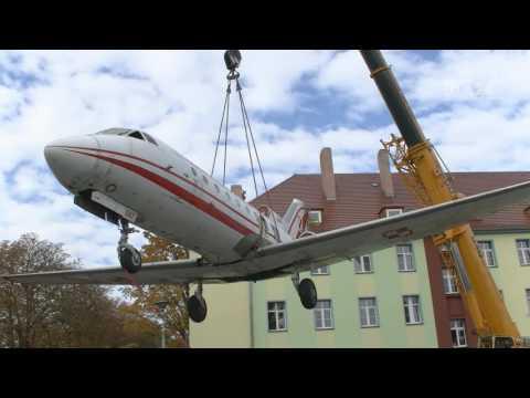 Jak-40 W Koszalinie. Nowy Eksponat Muzeum Obrony Przeciwlotniczej