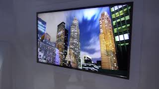 CES 2012 Samsung 4K ultra high definition TV 70""