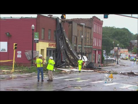 Webster Hit By Tornado As Severe Thunderstorms Roll Through Massachusetts