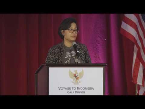 Voyage to Indonesia Gala Dinner- Minister Sri Mulyani Indrawati
