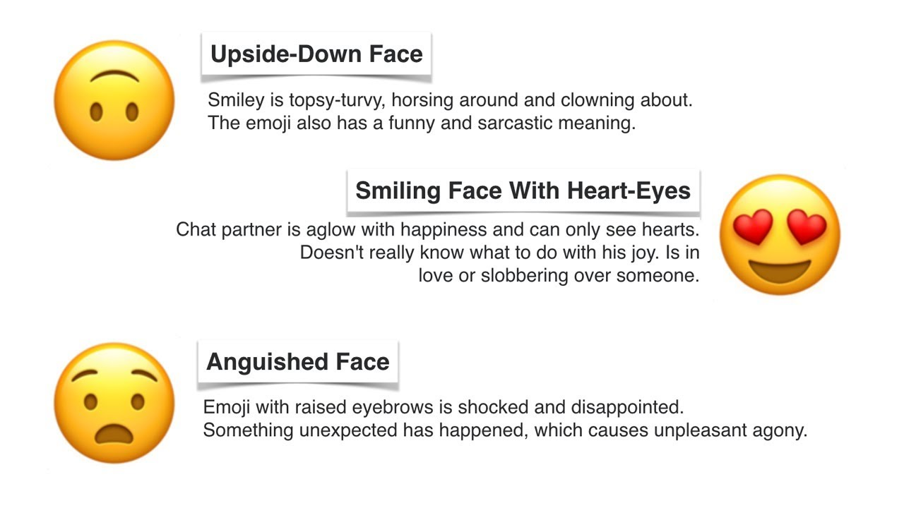 The Real Meaning Of Your Favorite Emojis - Smileys | Learn Emojis