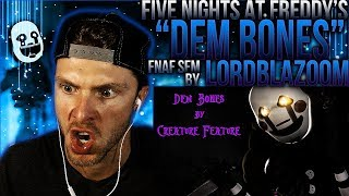 "Vapor Reacts #426 | [FNAF SFM] FIVE NIGHTS AT FREDDY'S ANIMATION ""Dem Bones"" by LordBlazoom REACTION"