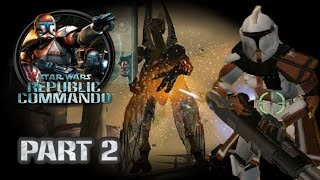 Star Wars Republic Commando (PC) HD: ARC Trooper Mod Walkthrough - Part 2: Geonosis #1