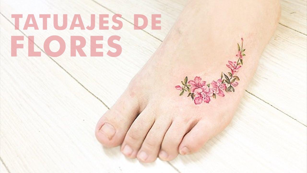 17 Diferentes Y Preciosos Tipos De Pequeños Tatuajes De Flores Youtube