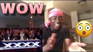 "Chris Klaffords Cover Of ""Imagine"" Americas Got Talent 2019 - REACTION"