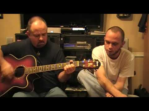 Theory of a Deadman -  By The Way - Acoustic cover by JD & Doug **comment & rate!!**