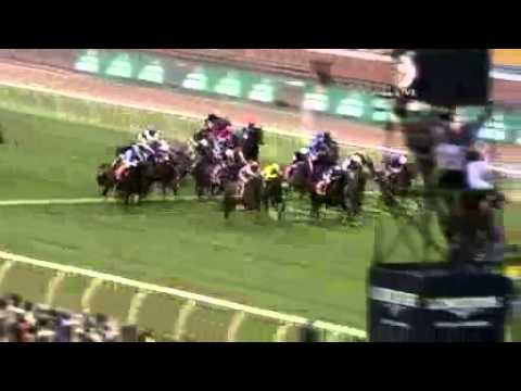 Melbourne Cup 2011 Dunaden and Christophe Lemaire Wins Melbourne Cup By a Whisker