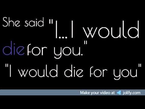 I Would Die For You - Matt Walters (Lyrics)