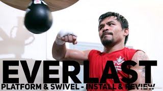 Everlast Speed Bag Platform and Professional Swivel - Install & Review
