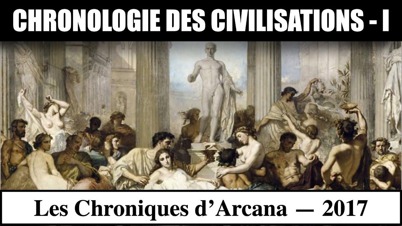 Chronologie des Civilisations ( Partie 1 ) - Les Chroniques d'Arcana #9
