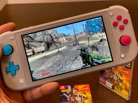 Borderlands Legendary Collection Switch Impressions