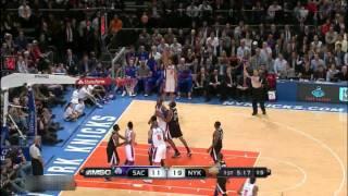 [HD] NBA 2012-02-16 尼克 VS 國王 Linsanity 林書豪 13個助攻 拿下10分