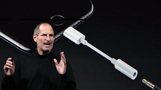 Стив Джобс о том почему у iPhone 7 нет 3.5мм разъема
