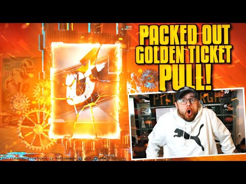 WE PULLED ONE OF THE BEST GOLDEN TICKETS IN THE GAME!! (Packed Out #51)