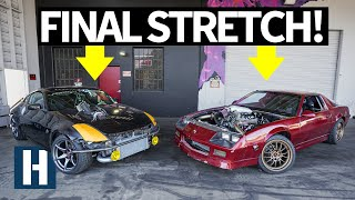 build-battle-3-crunch-time-wrapping-up-the-honda-k24-swapped-350z-and-3rd-gen-camaro-builds-ep-7