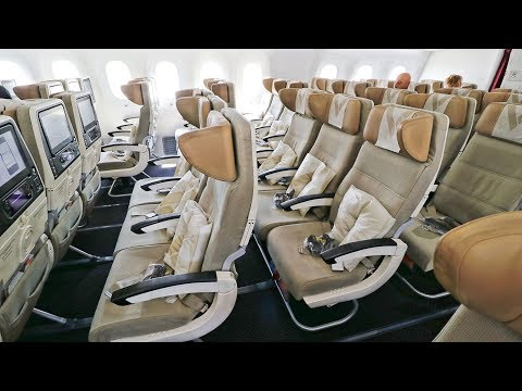 ETIHAD 787-9 & A320 Economy Class Onboard Review | Beirut - Abu Dhabi - Muscat | Economy Week