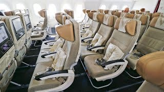 Etihad 787 9 & A320 Economy Class Onboard Review   Beirut   Abu Dhabi   Muscat   Economy Week