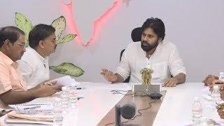 Pawan Kalyan Instructions to Nadendla Manohar Garu at PAC Meeting | Life Andhra Tv