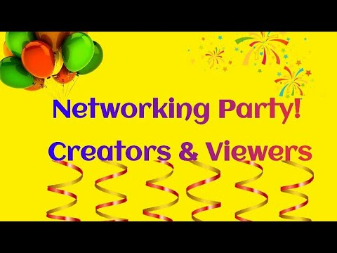 Networking Party! 👇Leave Your Link👇
