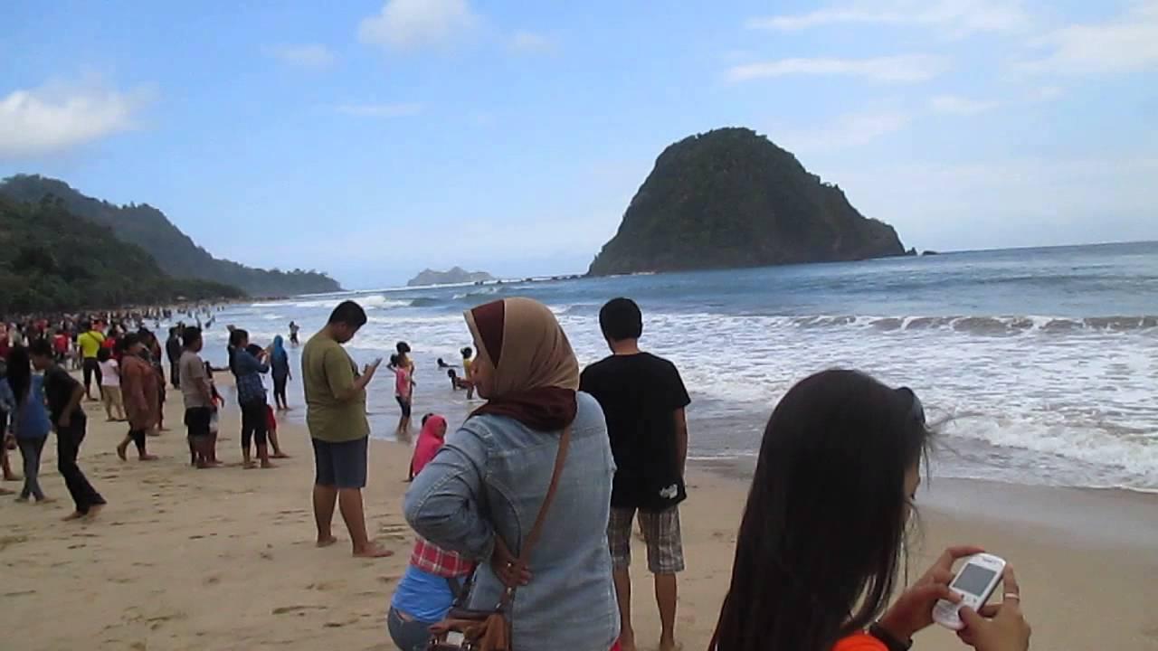 Pesona Pantai Pulau Merah Banyuwangi Youtube