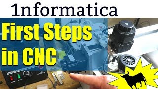 First Steps in CNC CNC3040 CNC USB controller Setup Test Cut Tutorial