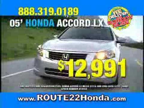 Rt 22 Honda >> Rt 22 Honda Car Fax Used Commercial