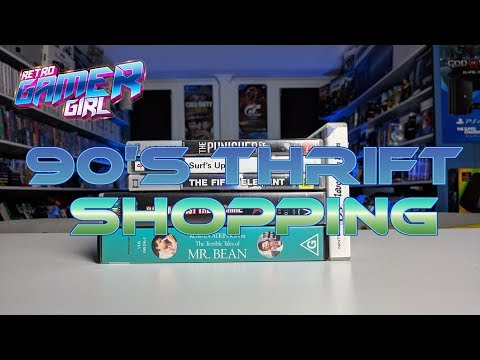 90's Op Shop Thrift Hunting & Cash Converters Australia | Retro Gamer Girl